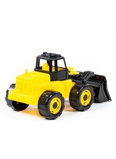 Polesie Polesie 22370 Herkül Oyuncak Traktör Yükleyici Sarı Renkli